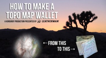 Topo Map Wallet