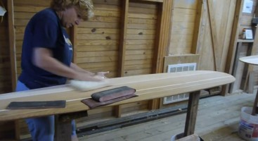 Randy Budd's All-Female Alaia Shaping Class at the Tuckerton Seaport