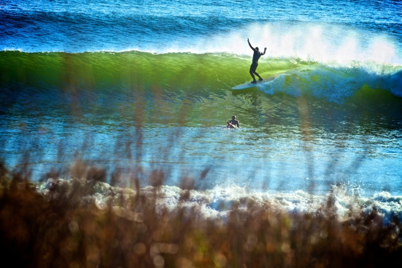 Mike Bromley surf Canada